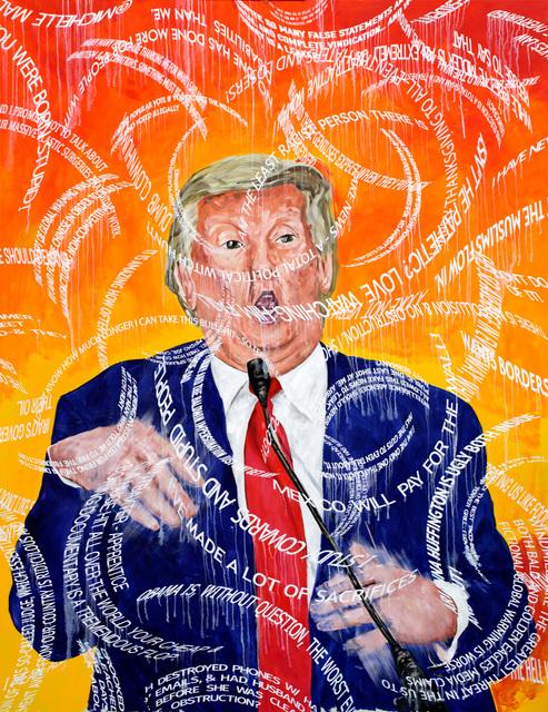, 'Trump Tweets,' 2017, Marc Straus