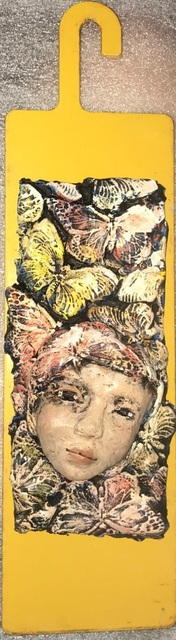 Elissa Farrow-Savos, 'Butterflies', Sculpture, Polymer clay and found objects, Zenith Gallery