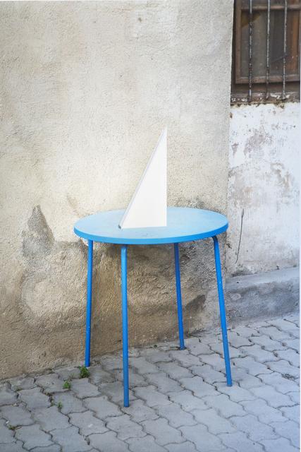 , 'Mesa azul,' 2014, maserre +R
