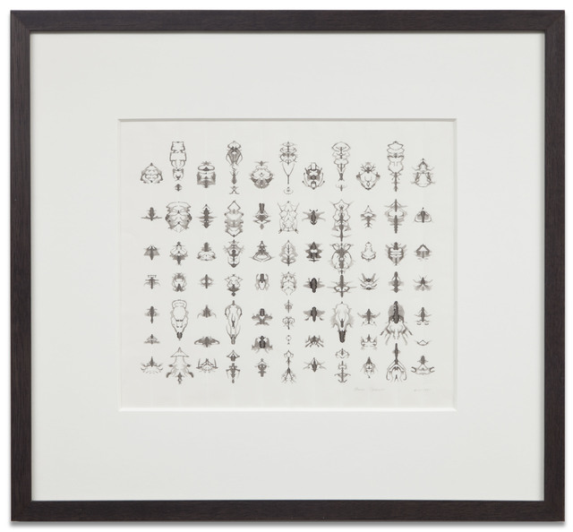 , 'INKBLOT DRAWING (APRIL 4, 1991),' 1991, Kohn Gallery
