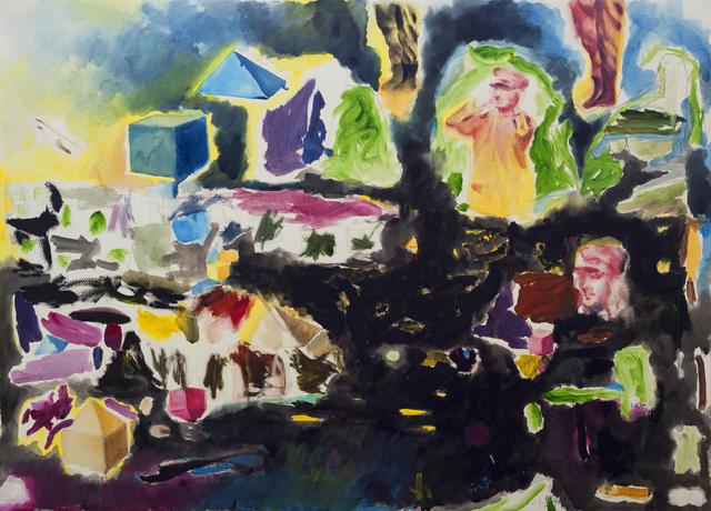 , 'Listen, Widow Wang is Taking a Bath 5km Away I,' 2015, L+/ Lucie Chang Fine Arts