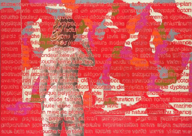 , 'Monochrome avec repentir,' 2013, Valérie Bach