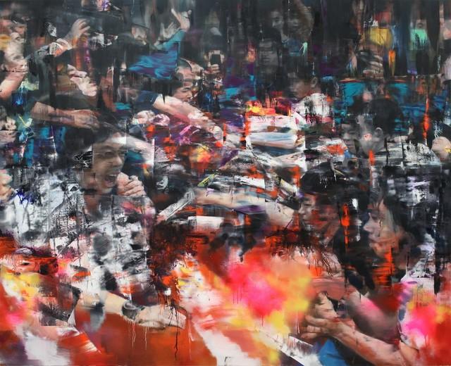 , 'Urban Scene 3,' 2018, Mazel Galerie