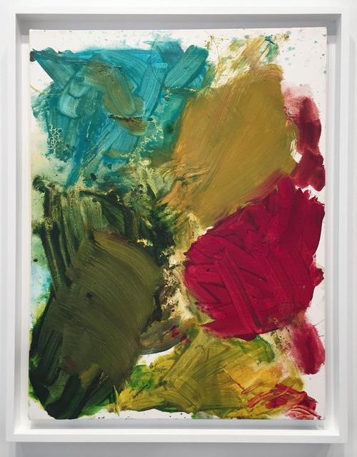 , 'Untitled (Palette Painting),' 2007, Edward Ressle