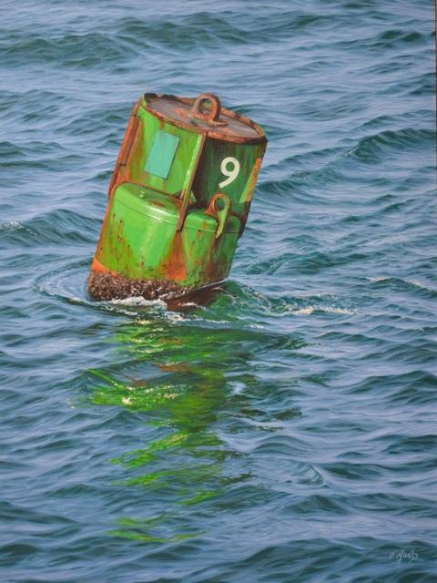 , 'A Wake at 9,' 2016, Quidley & Company