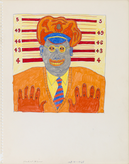 , 'Untitled (Study for Flat Foot),' 1968, Derek Eller Gallery