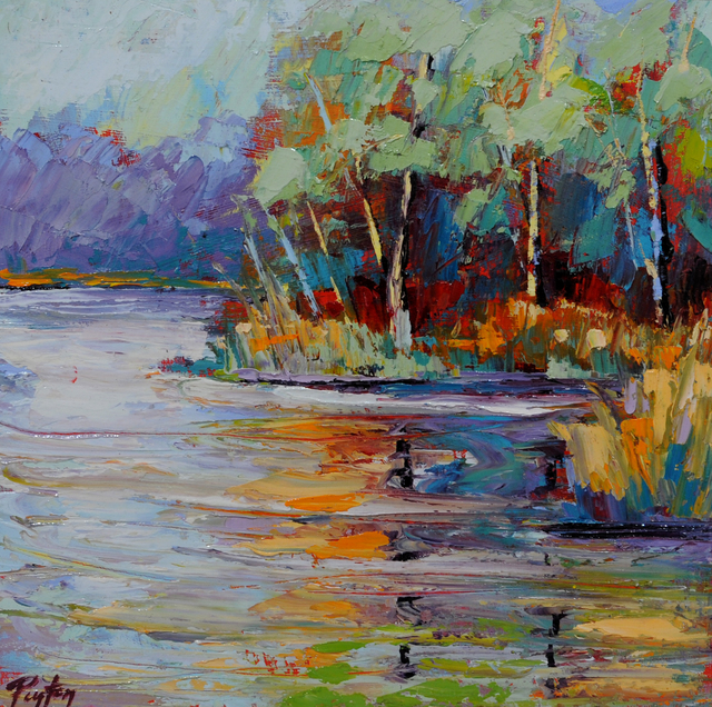 Peyton Hutchinson, 'Lake Reflections', 2019, Caron Gallery