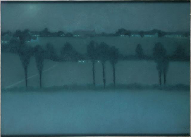 , 'Night effect,' 1896, Musée d'Ixelles