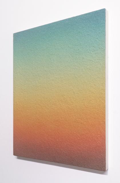 Dorothée Louise Recker, 'Whitesands (Tempelhof 2)  ', 2021, Painting, Oil and sand on canvas, She BAM!