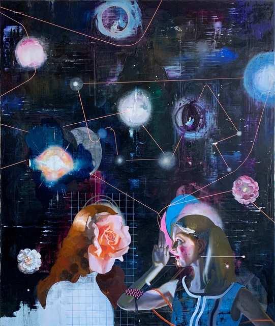 Rayk Goetze, 'Headquarter', 2020, Painting, Oil and acrylic on canvas, Josef Filipp Galerie