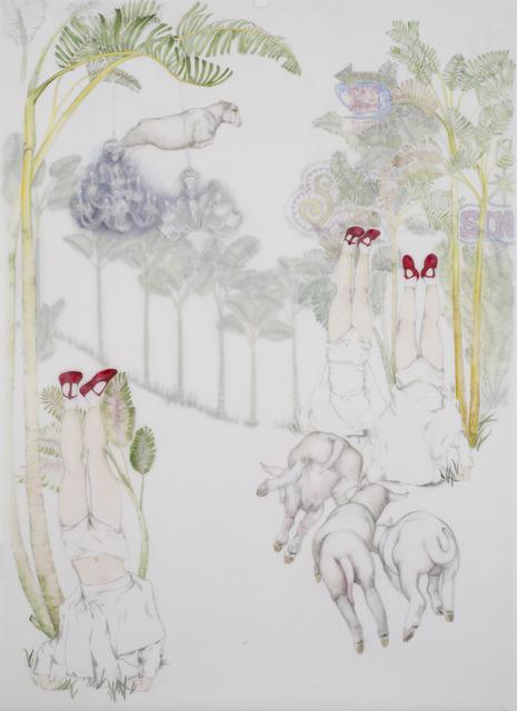 , 'Eat Here,' 2017, Bernice Steinbaum Gallery