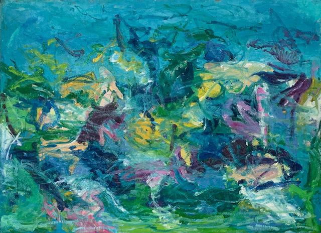 , 'Undersea (Coral Reef) VI,' , Rosenthal Fine Art