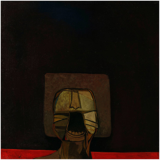 , 'Angry Man No. 1,' 1975, Meem Gallery