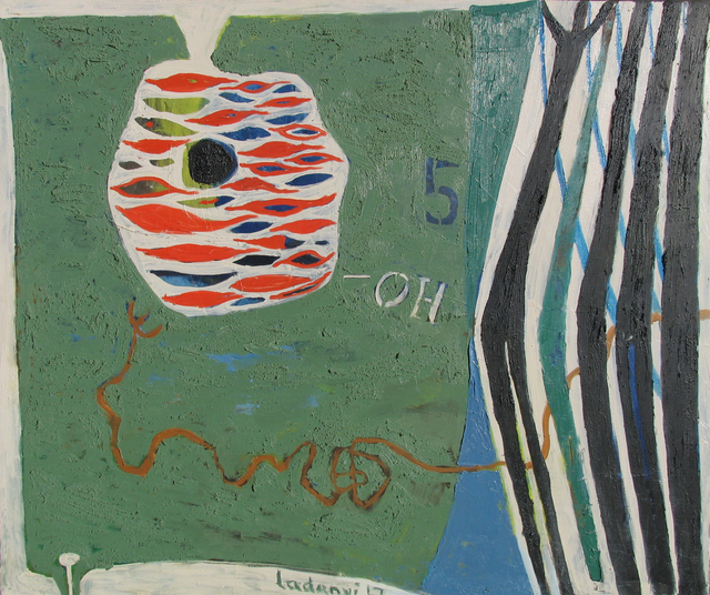 Emory Ladanyi, 'Expansive', 1967, Painting, Oil on canvas, Caldwell Gallery Hudson