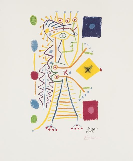 Pablo Picasso, 'Jacqueline', 1958, Print, Lithograph printed in colours, Forum Auctions