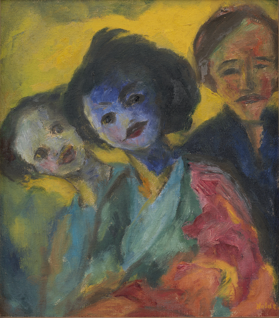 , 'Young Women,' 1947, Statens Museum for Kunst