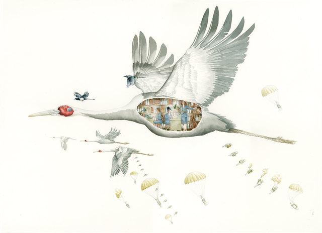 , 'The Cranes are Flying,' , Gallery Jones