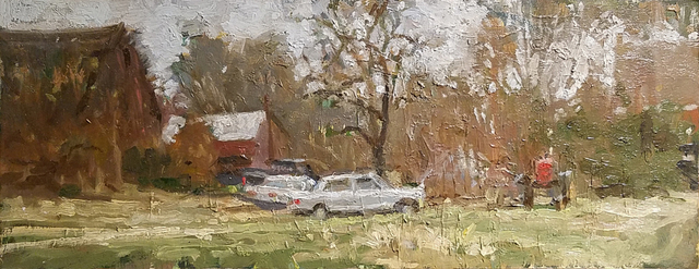 Michael Doyle, 'Barn, Truck, Mercedes, Tractor', 2018, Somerville Manning Gallery
