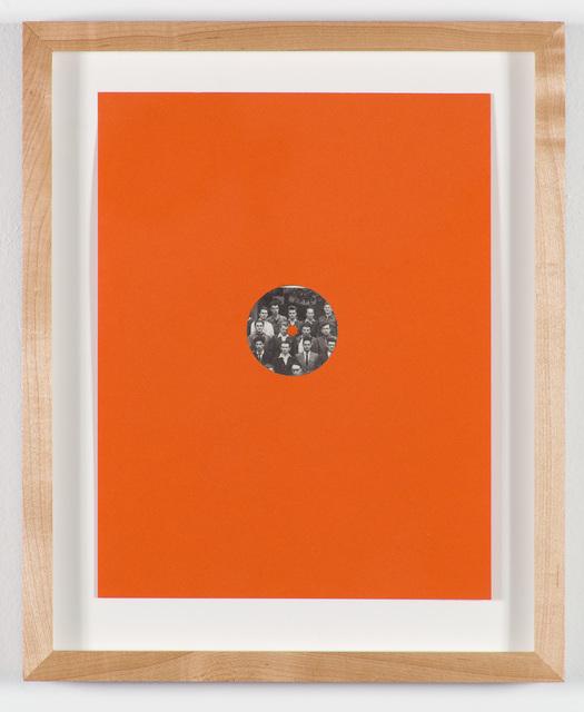 Bhakti Baxter, 'Untitled (Mandelbrot book knob extraction. orange)', 2013, Nina Johnson