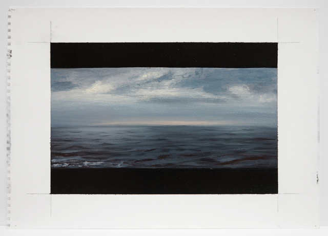 , 'Expanse: Crossing Long Island Sound,' 2015, Nohra Haime Gallery