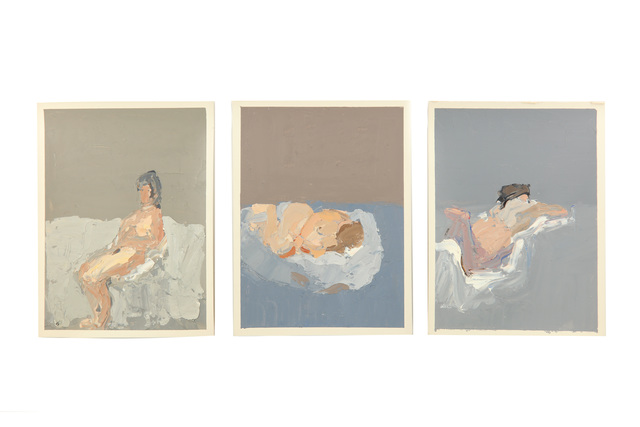 Bernard Myers, 'Three nudes each', Chiswick Auctions
