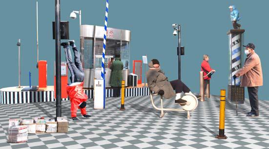 Peter Aerschmann, 'CHECKPOINT', 2010, Video/Film/Animation, DVD & HD video, no sound, Galerie Beatrice Brunner