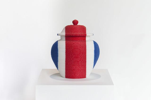 , 'back to the future / redwhiteblue vase 9,' 2006, Blindspot Gallery