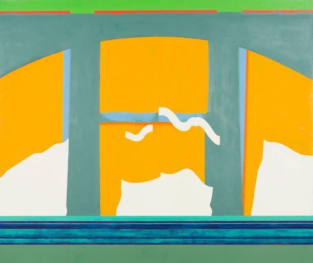 , 'Curtains #3,' 1970, Thomas Deans Fine Art