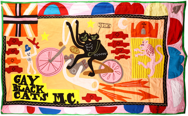 Grayson Perry, 'Gay Black Cats MC', 2017, Chiswick Auctions