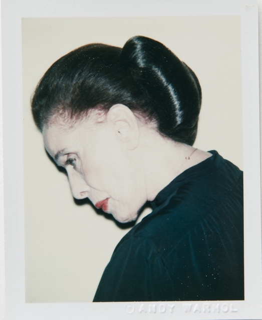 , 'Andy Warhol, Polaroid Photograph of Martha Graham, 1979,' 1979, Hedges Projects