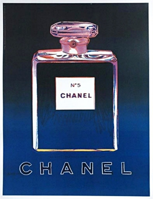 Andy Warhol, 'Chanel No. 5 (Blue)', 1997, Alpha 137 Gallery Auction