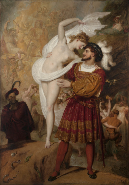 , 'Faust and Lilith (Faust preparing to waltz with the young Witch at the Festival of the Wizards and Witches in the Hartz Mountains),' 1831, Jack Kilgore & Co.
