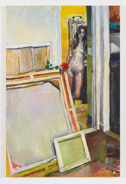 , 'Untitled (Red Rose),' 2016, Diane Rosenstein