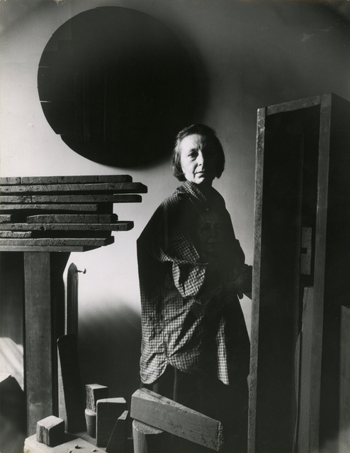 , 'Louise Nevelson in her Studio,' 1964, Thomas French Fine Art