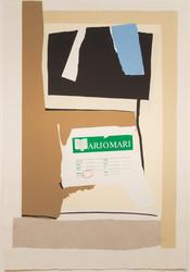, 'America - La France Variations VII,' 1984, Eckert Fine Art