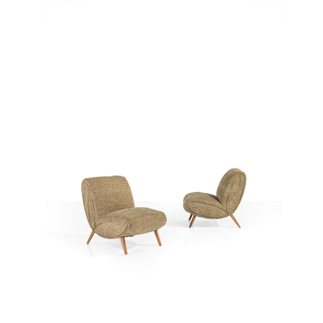 Norman Bel Geddes, 'Pair Of Easy Chairs', 1949, PIASA