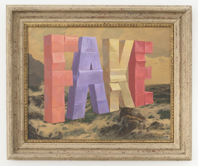 , 'FAKE,' 2017, Joshua Liner Gallery