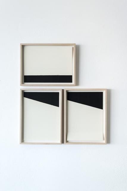 , 'White and black compositions no. 06,' 2016, Casa Triângulo