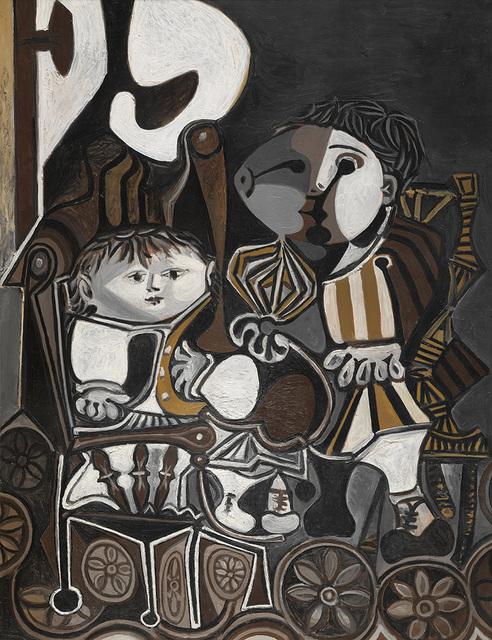 , 'Claude et Paloma,' 1950, Vancouver Art Gallery