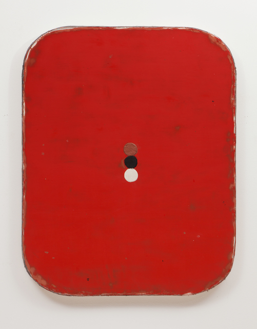 , 'Red with three circles,' 2014, annex14