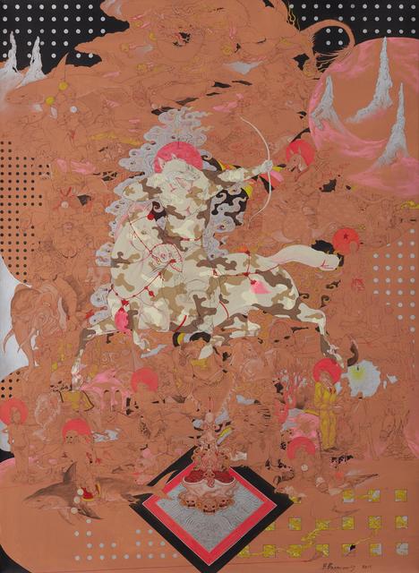 Baatarzorig Batjargal, 'Law of Nature', 2019, Jack Bell Gallery