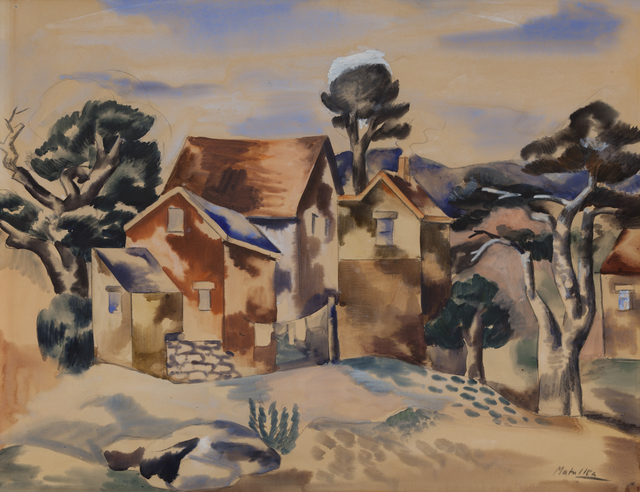 , 'Untitled (Houses),' , ACA Galleries