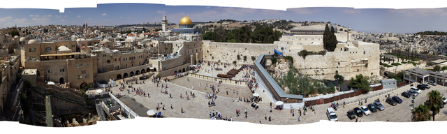 Bill Aron, 'Western Wall Plaza during the Day', Pucker Gallery