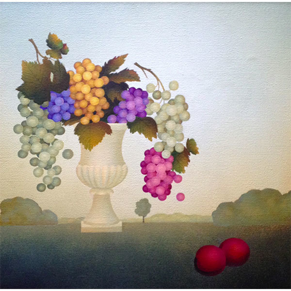 , 'Landscape with Grapes,' 2018, ART MORA