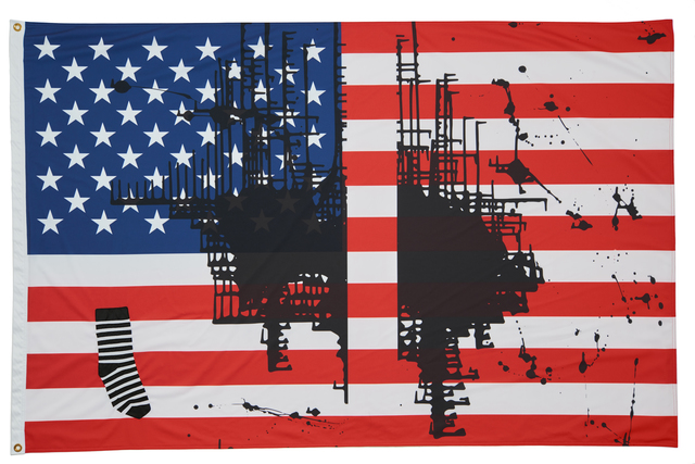 Josephine Meckseper, 'Untitled (Flag 2), 2017', 2017, Creative Time: Pledges of Allegiance