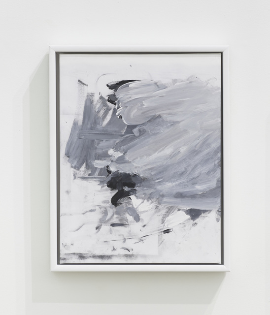 Haley Mellin, 'Abstract Trompe-l'oeil', 2019, Painting, Oil, ink, gesso and medium on canvas, Diane Rosenstein