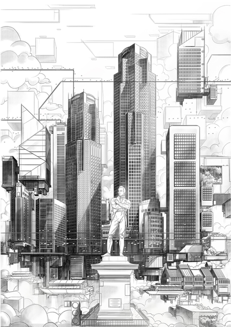 , 'Stamford Raffles Singapore,' 2016, Art Porters