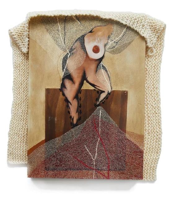 , 'A lipstick snake got in the system,' 2018, Galerie Krinzinger