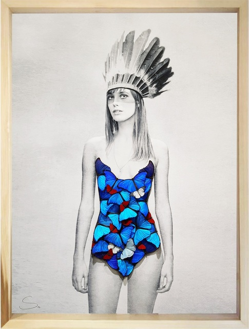 SN, 'Jane Brooklyn Indian', 2019, Eden Fine Art