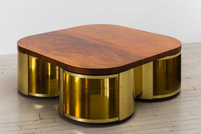 , 'Four Cylinder Low Table,' 1980, Todd Merrill Studio